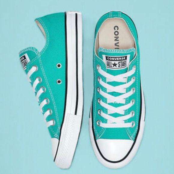 Converse Other - NEW Converse Chuck Taylor Low 11 Turbo Green